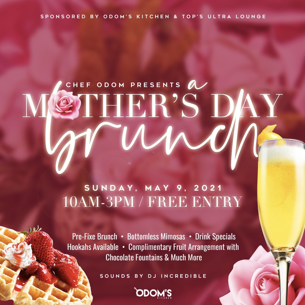 Mother's Day Brunch with Chef Odom!