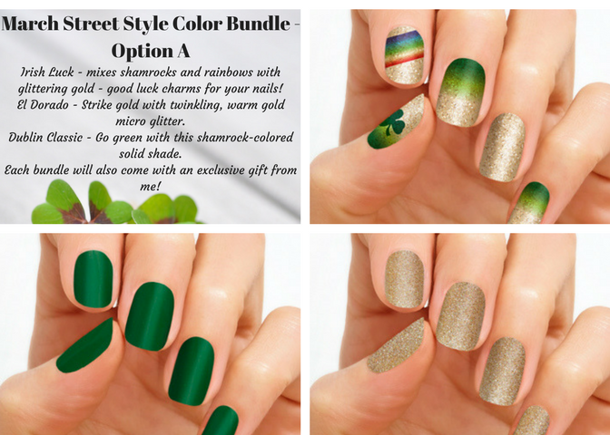 March Street Style Color Bundles - From Nifty Nails with Jennifer