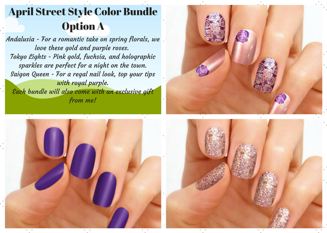 April Street Style Color Bundles from Nifty Nails with Jennifer ...