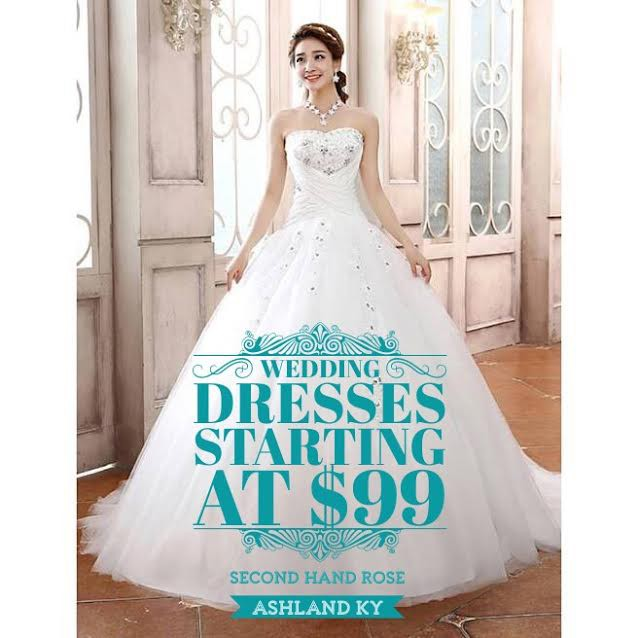 75% Off Pink Tag Event at Second Hand Rose Clothing and Bridal